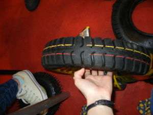 400-8 Tyre and Tube for Wheel Barow pictures & photos