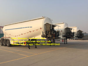 50cbm Dry Bulk Cement Powder Tanker Semi Trailer