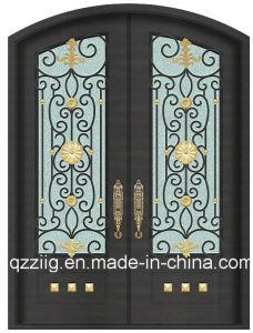 Luxury Wrought Iron Entrance Door