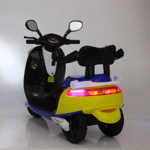 Plastic Ride on Electric Power Mini Kids Motorcycle for Sale pictures & photos