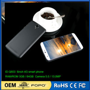 Shenzhen Factory OEM 6 Inch Quad Core 4G Smart Phone pictures & photos