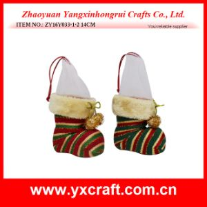 Christmas Decoration (ZY16Y033-1-2 14CM) New Christmas Color pictures & photos