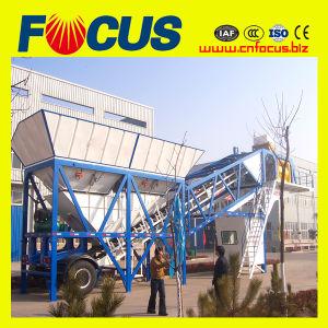 Construction Machinery Yhzs50 Mobile Concrete Batching Plant pictures & photos