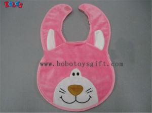 "13""Bandana Bibs Plush Pink Cat Baby Bibs pictures & photos"