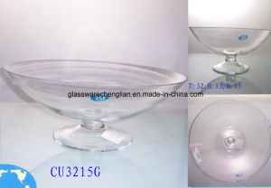 Hand-Made Stemware Glass Bowl (W-JH01) pictures & photos