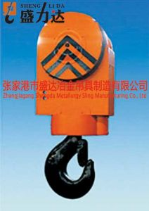 Close Casing Design Rotating Hook Block