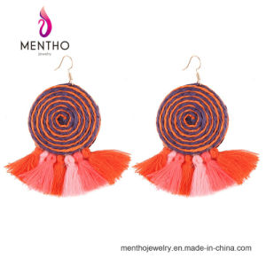 2017 Hot Sale New Hand-Woven Imitation Jewelry Tassel Earrings pictures & photos
