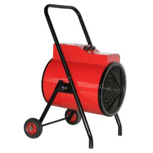 Round Industrial Fan Heater with Wheel pictures & photos