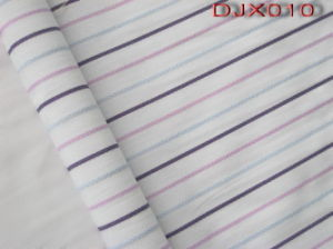 Yarn Dyed Polyester Cotton Dobby Fabric Shirting Djx010 pictures & photos