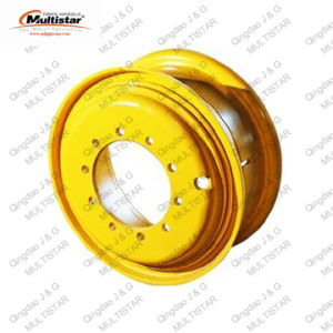 Grader Rim 24-10.00/1.7 OTR Wheel with 3-PC Type for 140g pictures & photos