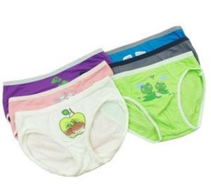 Bamboo Fiber Children Underwear / Under Wear with Cartoon Pattern pictures & photos
