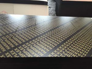 21mm Hardwood Core Film Faced Plywood for Formwork with Logo pictures & photos