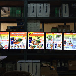 LED Light Box Fast Food Billboard pictures & photos