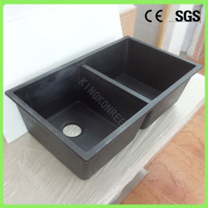 china factory cheap price double bowl resin stone kitchen. Black Bedroom Furniture Sets. Home Design Ideas