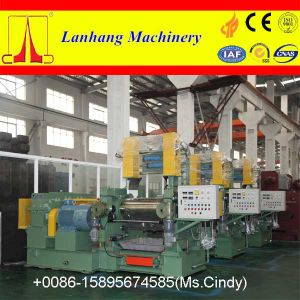 Rubber Two Roll Mixing Mill with Stock Blender pictures & photos