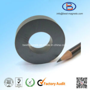D40xd20X10 Y30bh High Quality Ring Shape Anisotropic Ferrite Magnet pictures & photos