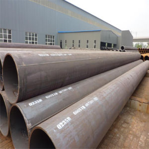 Q235B 600X18mm X 12meters Welded Steel Pipe for Water Transportation pictures & photos