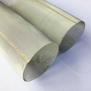 Seam Welding Woven Wire Mesh Filter Cylinder Cartridge pictures & photos