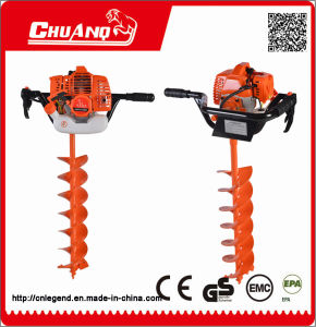 Gasoline Earth Auger/Auger Drill pictures & photos