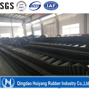 Conveyor Belt with Sidewall in Metallugy for Export