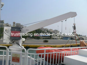 Single Arm Slewing Boat Davit, Provision Crane pictures & photos