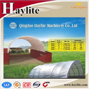 PVC Cloth Steel Structure Container Canopy pictures & photos