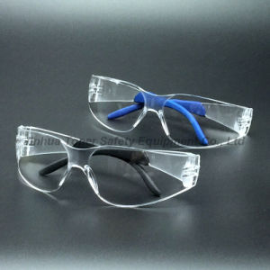 ANSI Z87.1 Sport Type PC Lens Safety Spectacles with Tips (SG104) pictures & photos