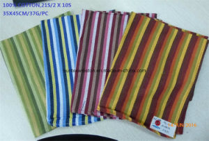 Cotton Printed Woven Tea Towel pictures & photos