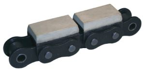 Roller Chain with Vulcanised Elastomber Profile pictures & photos