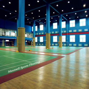 PVC Vinyls Sports Badminton Sports Flooring/Mats pictures & photos
