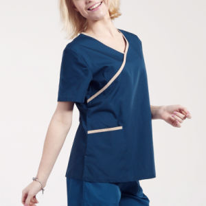 Fashionable Medical Scrub/Scrub Suit/Nurse Hospital Uniform Designs pictures & photos