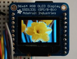 0.96 Color OLED 96X64 pictures & photos