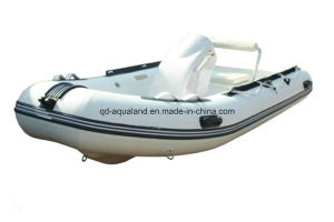 Aqualand 13feet 4m Rigid Inflatable Fishing Boat/Rib Motor Boat (rib400) pictures & photos