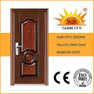 New Design Front Anti-Theft Steel Door (SC-S037) pictures & photos