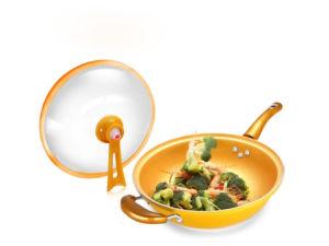 Non-Stick Aluminum Wok Cookware (QW-KS002) pictures & photos
