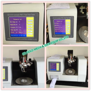 Fully-Automatic Pmcc Pensky-Martens Closed Cup Flash Point Tester pictures & photos