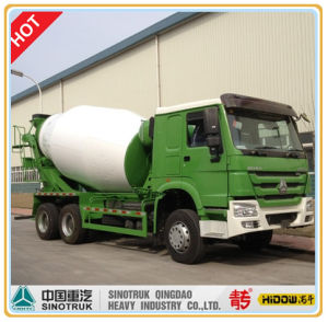 HOWO 8 Cubic Mixer Truck pictures & photos