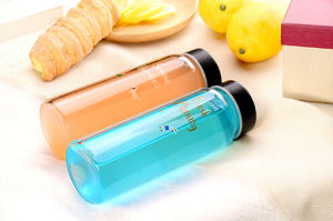 Portable Glass Bottle Outside Bottle Drinking Glass pictures & photos