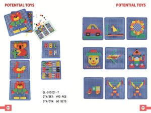 Mosaic 3D Puzzle Toys Plastic Toys (QL-010(D)-7)