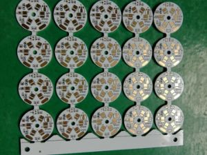1.0mm / 1.2mm / 1.6mm Round Aluminum LED PCB pictures & photos