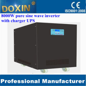 Single Phase 96V 220V LCD UPS Charger 8000W Inverter Transformer pictures & photos