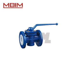 Plastic Lined Plug Valve (DN15-DN500) pictures & photos