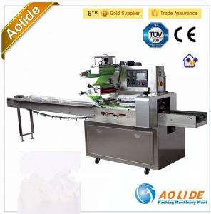 Automatic Flow Packing Machine Full Stainless Bag Making Bread Wrapping Machine pictures & photos