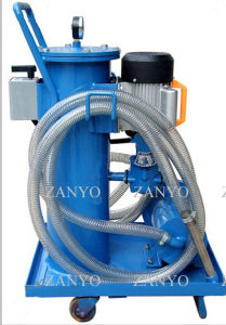 Trolley Hand-Push Type Particulates Removing Filtration System Turbine/ Lubricant/ Hydraulic Oil Filtration System 50L/Min pictures & photos