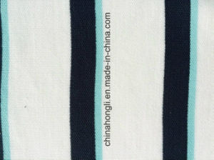 Pique P/C 65/35, 200GSM, Yarn-Dye Stripe Knitting Fabric for Sportwear with Quick Dry pictures & photos