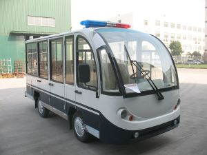 Electric Eight Seats, People Mover with Hard Door pictures & photos