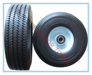 350-4 Wheel Barrow PU Foam Wheel/in Flation-Free pictures & photos