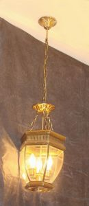Brass Pendant Lamp with Glass Decorative 19002 Pendant Lighting pictures & photos
