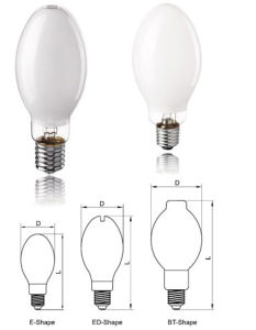 Blended Mercury Light Bulb 160W/250W/500W/700W/1000W pictures & photos