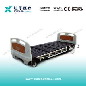 Type-D Electric Super Low Hospital Bed (Three Functions) pictures & photos